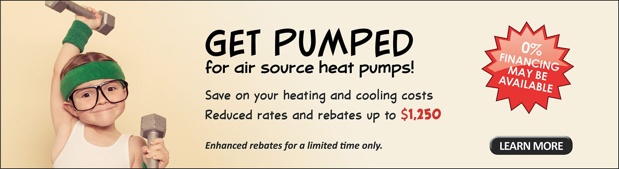 Get pumped for air source heat pumps